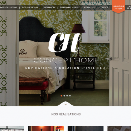 accueil site web concept home vannes decorateur architecte interieur